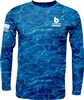 Bomber Mossy Oak Elements Outdoor shirt-Blue