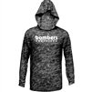 Bomber Mossy Oak Elements Outdoor shirt with hood-black