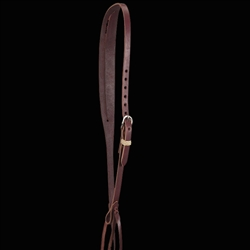 Relentless Simple Slit Ear Headstall - Latigo