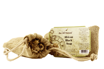 All Natural African Black Soap