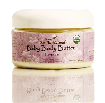 Organic Baby Body Butter (lavender)