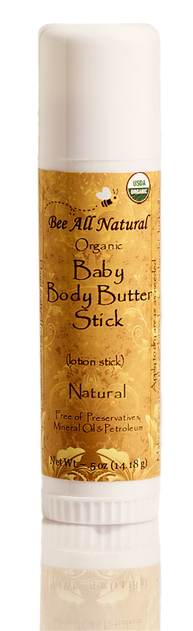 Organic Baby Body Butter Stick (natural)
