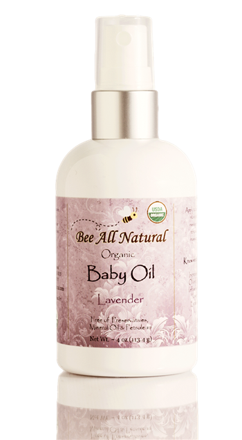 Organic Baby Oil (lavender)