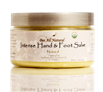 Organic Intense Hand & Foot Salve  (natural)
