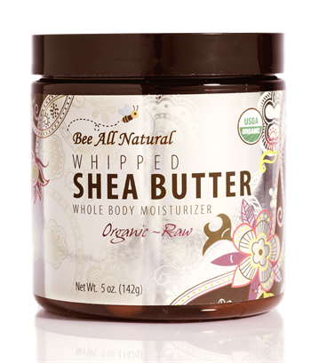 Organic Raw Whipped Shea Butter