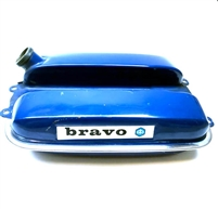 Vespa Bravo Moped Gas Tank-Blue