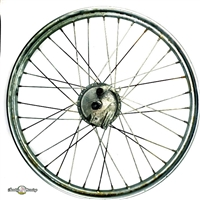 Sears Allstate Moped Complete Front Wheel