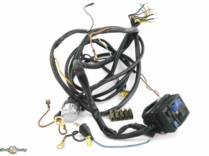 Kreidler Mp9 Moped Wiring Harness