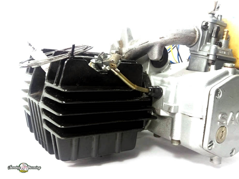 Sachs 504-1C Moped Engine