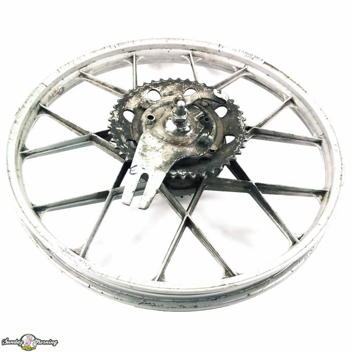 Rear Puch Grimeca Moped Snowflake Wheel