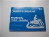 Owners Manual - 1982 Honda NU50/NU50M Moped