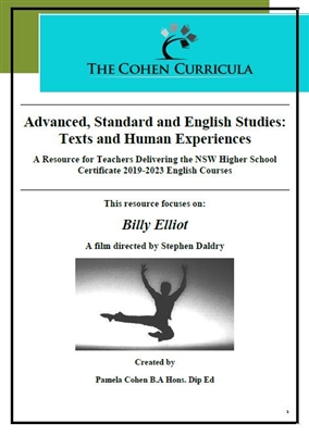 The Cohen Curricula: Texts and Human Experiences: Billy Elliot