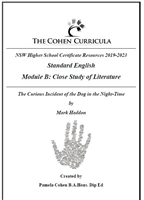 The Cohen Curricula HSC Teacher Resource: Module B: Curious Incident of the Dog in the Night-Time
