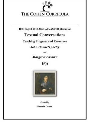 Module A: Textual Conversations: Donne and W;t