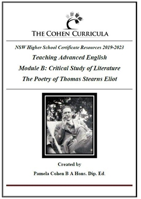 Advanced Module B Critical Study of Literature: T.S. Eliot