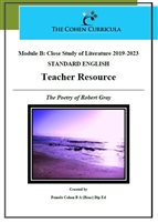 The Cohen Curricula HSC Teacher Resource: Module B: The Poetry of Robert Gray