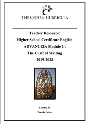 The Cohen Curricula: Module C Advanced: The Craft of Writing