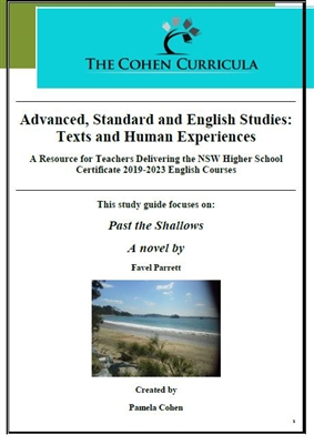 The Cohen Curricula: Texts and Human Experiences: Past the Shallows by Favel Parrett