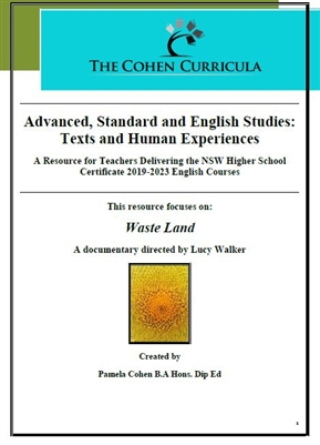 The Cohen Curricula: Texts and Human Experiences: Waste Land