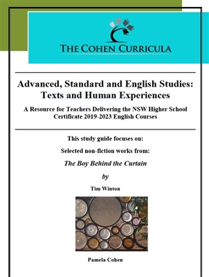 The Cohen Curricula: Texts and Human Experiences: Tim Winton's The Boy Behind the Curtain