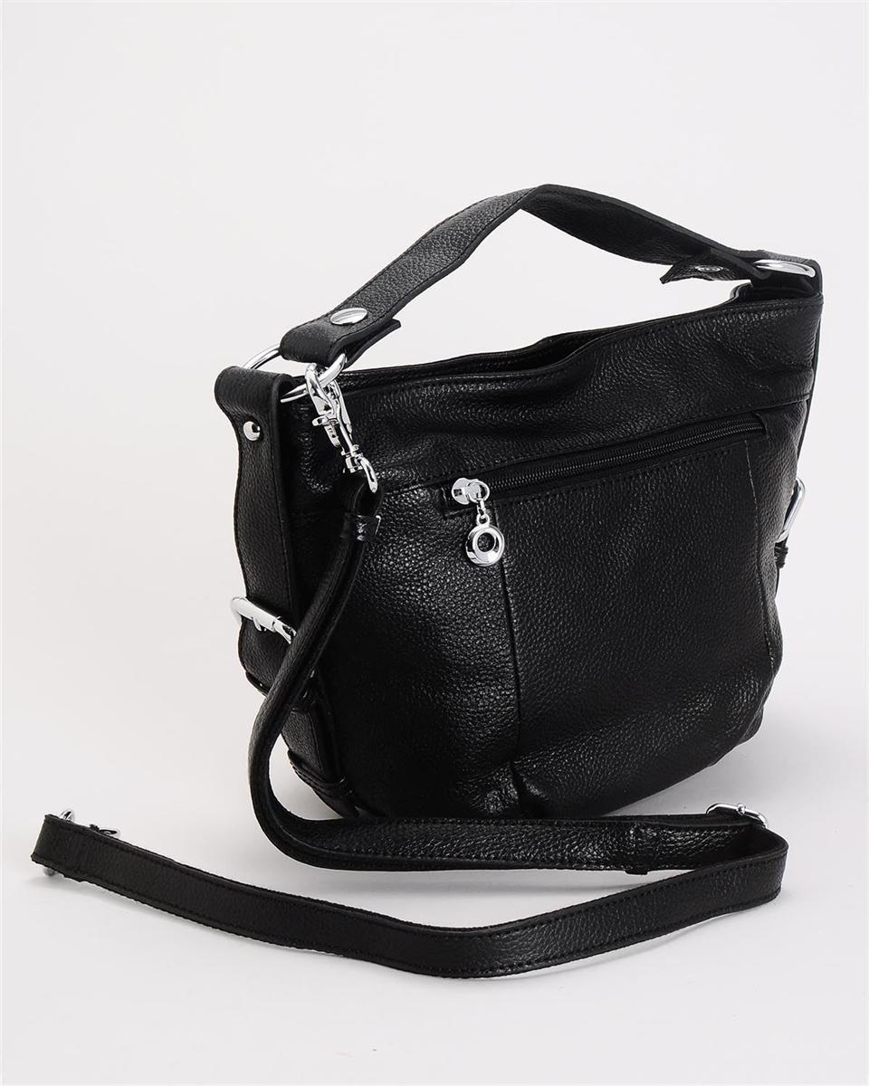 e48fa6cc5a Tiffany & Fred Genuine Leather Buckle Shoulder Crossbody Handbag Purse