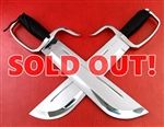 Wing Chun Butterfly Swords - Domination Line - Chopper 13 440C Blade
