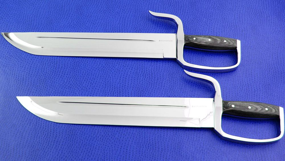 [SOLD OUT!] Wing Chun Butterfly Swords: DOMINATION v1 - Stabber 14 440C -  HG Blunt