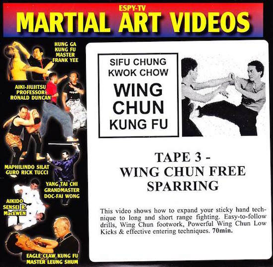 Chung Kwok Chow - Classic Series DVD 03 - Wing Chun Free Sparring