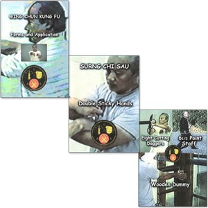 Eddie Chong Wing Chun DVDs - From the Yip Man / Leung Sheung and Pan