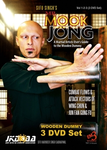 Sifu Harinder Singh Sabharwal - Mr. Mook Jong - Wooden Dummy 1-3 - (3 DVD set) ​A Martial Artists User's Guide to the Wooden Dummy Combat Flows and Attack Vectors of Wing Chun and Jun Fan Gung Fu