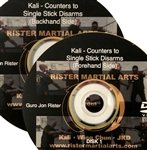 Jon Rister - Kali - Counters to Single Stick Disarms