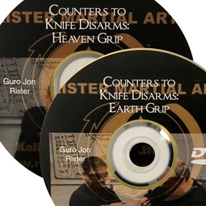 Jon Rister - Kali - Counters to Single Knife Disarms