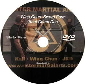 Jon Rister - Wing Chun - Baat Cham Do (Swords) Form