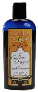 Liniment - Golden Dragon Massage Oil - 4 oz