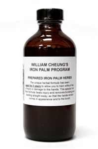 William Cheung 100-Day Iron Palm Jow - (Conditioning/Iron) (Extra Strength) (Aged 4+ years) - 8oz (Limited Edition)