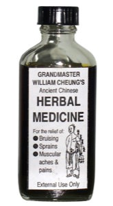 Grandmaster William Cheung's Ancient Chinese Herbal Medicine - 100ml bottle (3.38 oz)