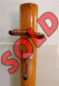 Buick Yip - Fortunate Wood Wing Chun Wooden Dummy -  Mook Yan Jong 610