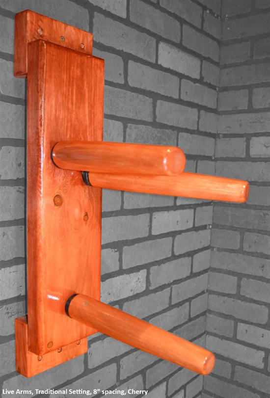 Dragonblast - Wing Chun Flat Board Wooden Dummy