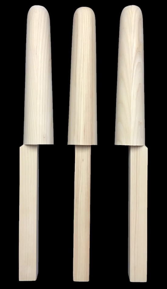 Wooden Dummy Arms (Set of 3) - ASH(Dual Parallel/Traditional Setting) (Ready to Ship)