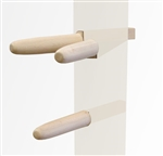 Wooden Dummy Arms (Set of 3) - ASH (Dual Level/Traditional Setting) (Ready to Ship)