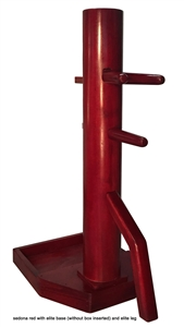 MasterPath - Free-Standing Wing Chun Wooden Dummy with Elite base (Pre-Made Ready to Ship)