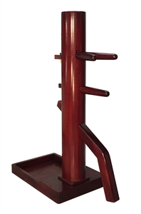 MasterPath - Free-Standing Wing Chun Wooden Dummy with Triangle base (Made On Demand)