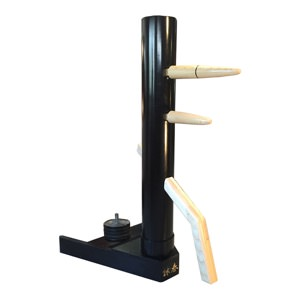 Warrior's PVC Centerline Dummy with Vector Stand  (Made on Demand)