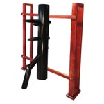 Warrior's PVC Dummy with Wall Stand (Made on Demand)