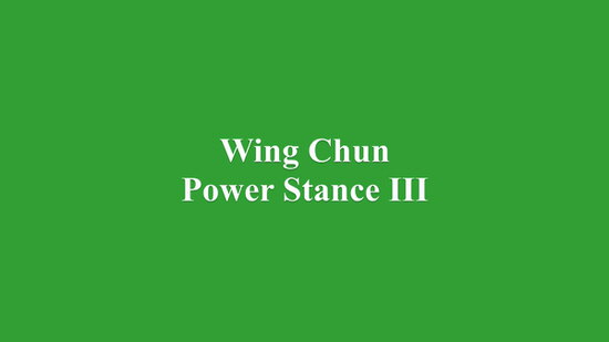DOWNLOAD: Greg Yau - Wing Chun Power Stance Course - Lesson 3