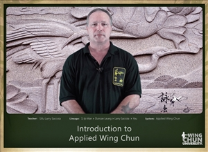 DOWNLOAD: Larry Saccoia - Applied Wing Chun - Lesson 000 - Introduction
