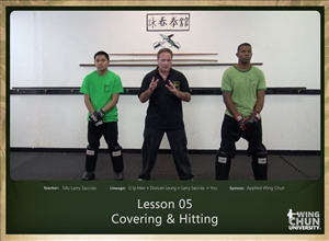 DOWNLOAD: Larry Saccoia - Applied Wing Chun - Lesson 005 - Covering and Hitting
