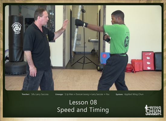 DOWNLOAD: Larry Saccoia - Applied Wing Chun - Lesson 008 - Speed and Timing
