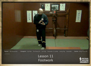 DOWNLOAD: Sifu Fernandez - WingTchunDo - Lesson 11 - Footwork
