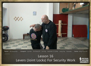 DOWNLOAD: Sifu Fernandez - WingTchunDo - Lesson 16 - Levers (Joint Locks) For Security Work
